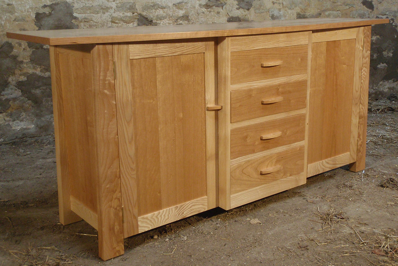 Ash and Cherry Sideboard