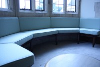 Mansfield College relaxed seating