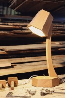 Completed Bodlean Library reading lamp