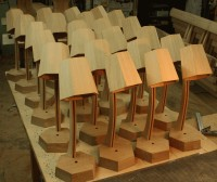 Bodlean Library reading lamps