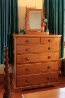 Tall Bedroom Chest of Drawers